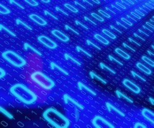 Computer binary data concept