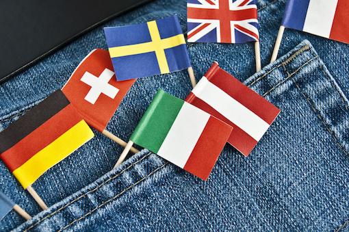 jean poche drapeaux